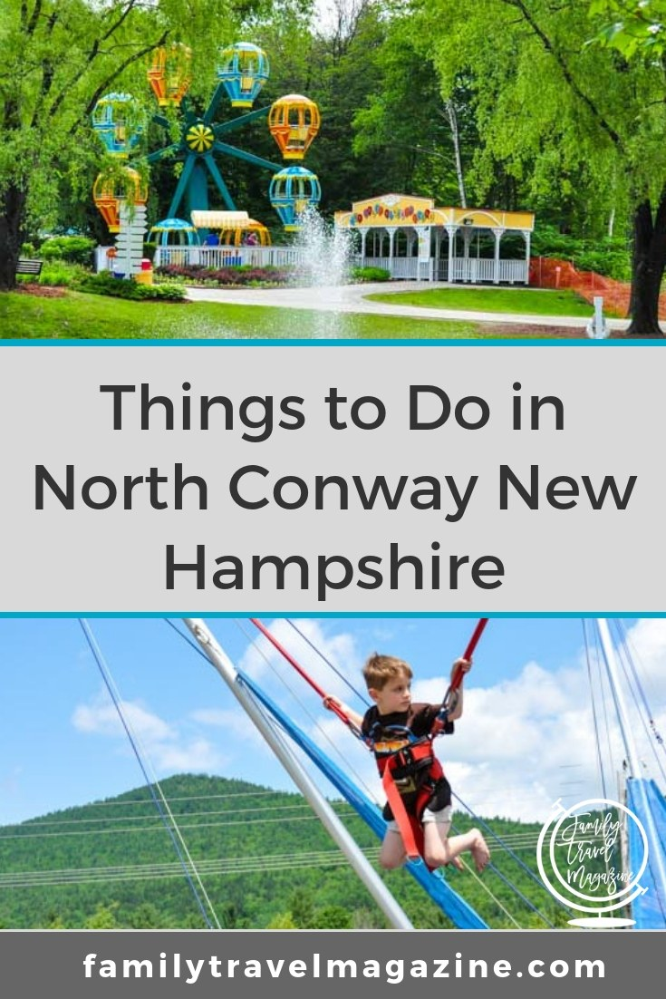 Things to do in North Conway NH with kids for your New Hampshire family vacation. Hotels, restaurants, and attractions that families will love in winter, spring, fall, and summer.