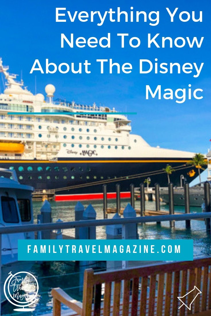 Everything you need to know about sailing on the Disney Magic Cruise Ship, including shows, restaurants, and amenities on board the ship.