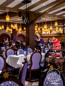 Rapunzel's Royal Table on the Disney Magic Cruise Ship
