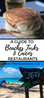 A guide to Beaches Turks and Caicos restaurants, including the best dishes at some of our favorite places.