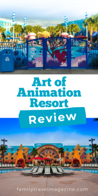 Should you stay at Disney's Art of Animation Resort? It offers themed family resorts with lots of great activities and amenities. We stayed there, and here is our review.