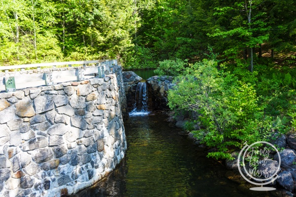 The Flume in New Hampshire
