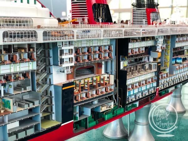 Model ship Port Canaveral