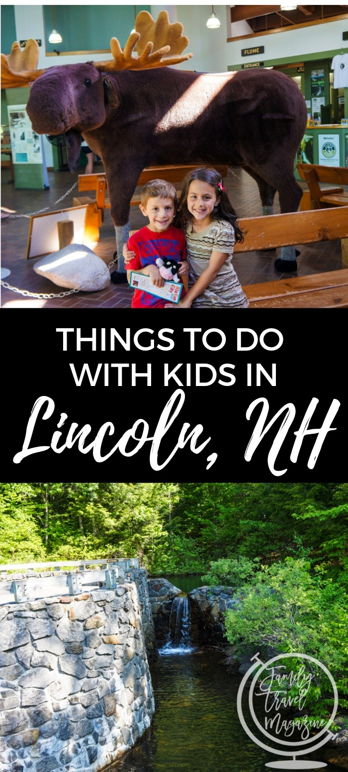 Things to do with kids in Lincoln, NH, including Loon Mountain, Franconia Notch State Park, and other outdoor activities in the White Mountains.