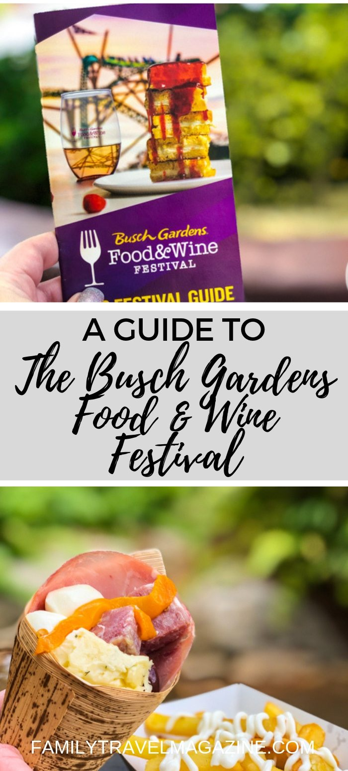 A guide to Busch Gardens Food and Wine Festival, including our favorite food, entertainment, and the various available tickets.