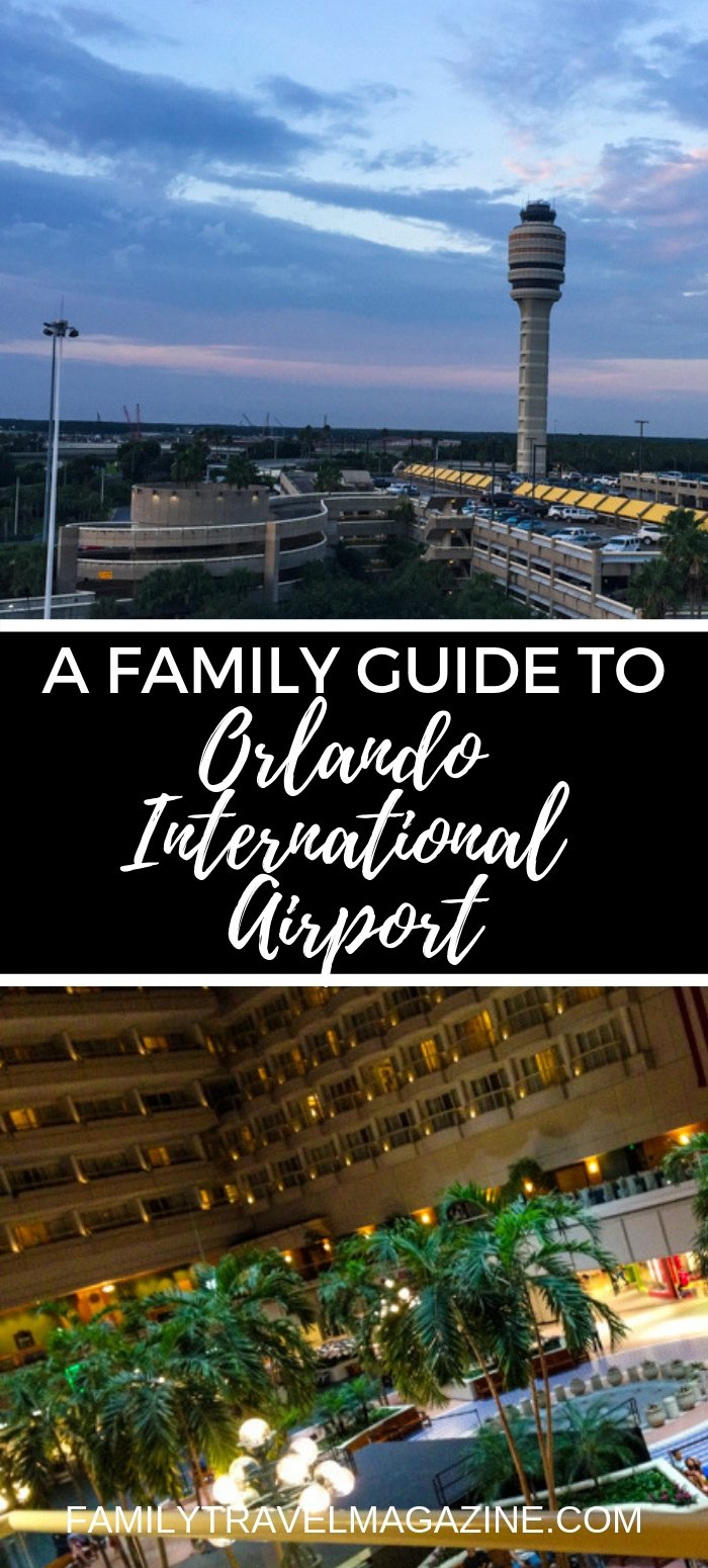 A family guide to Orlando International Airport, including restaurants, shops, terminals, and more information to make your visit easier.
