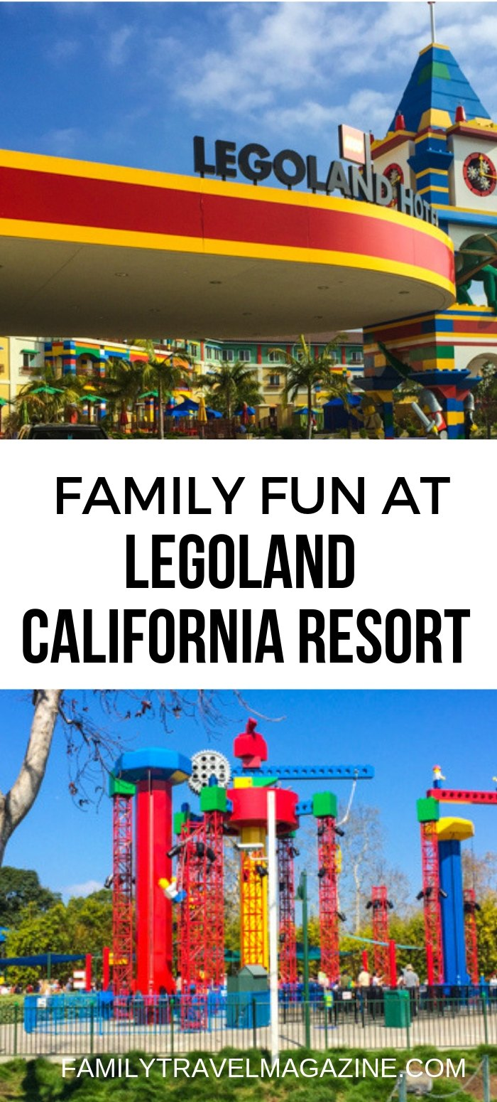 A review of LEGOLAND California Resort, which offers a theme park, two family hotels, a water park, and an aquarium.