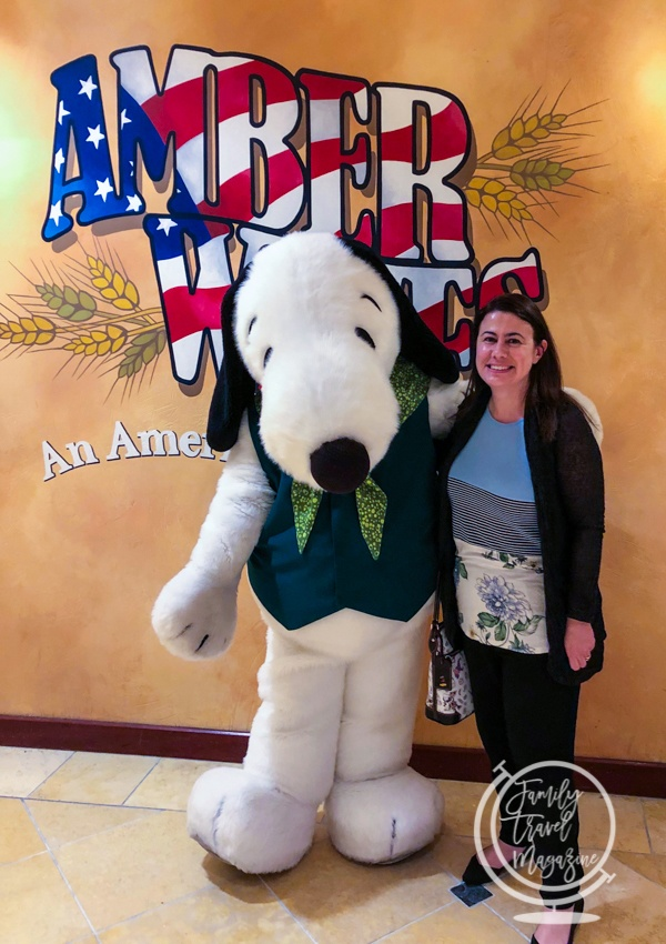 Snoopy at Amber Waves
