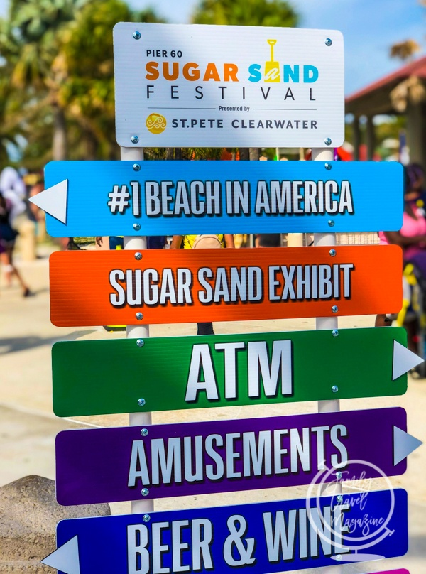 Sign at the Sugar Sand Festival