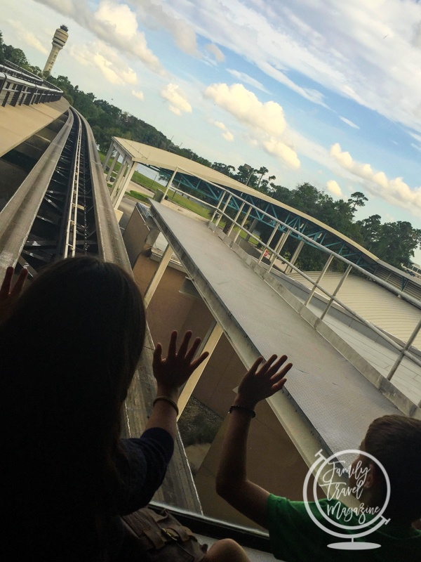 The tram at Orlando International Airport