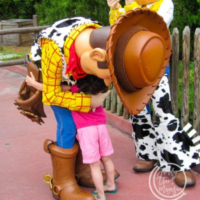 Seeing Walt Disney World Characters