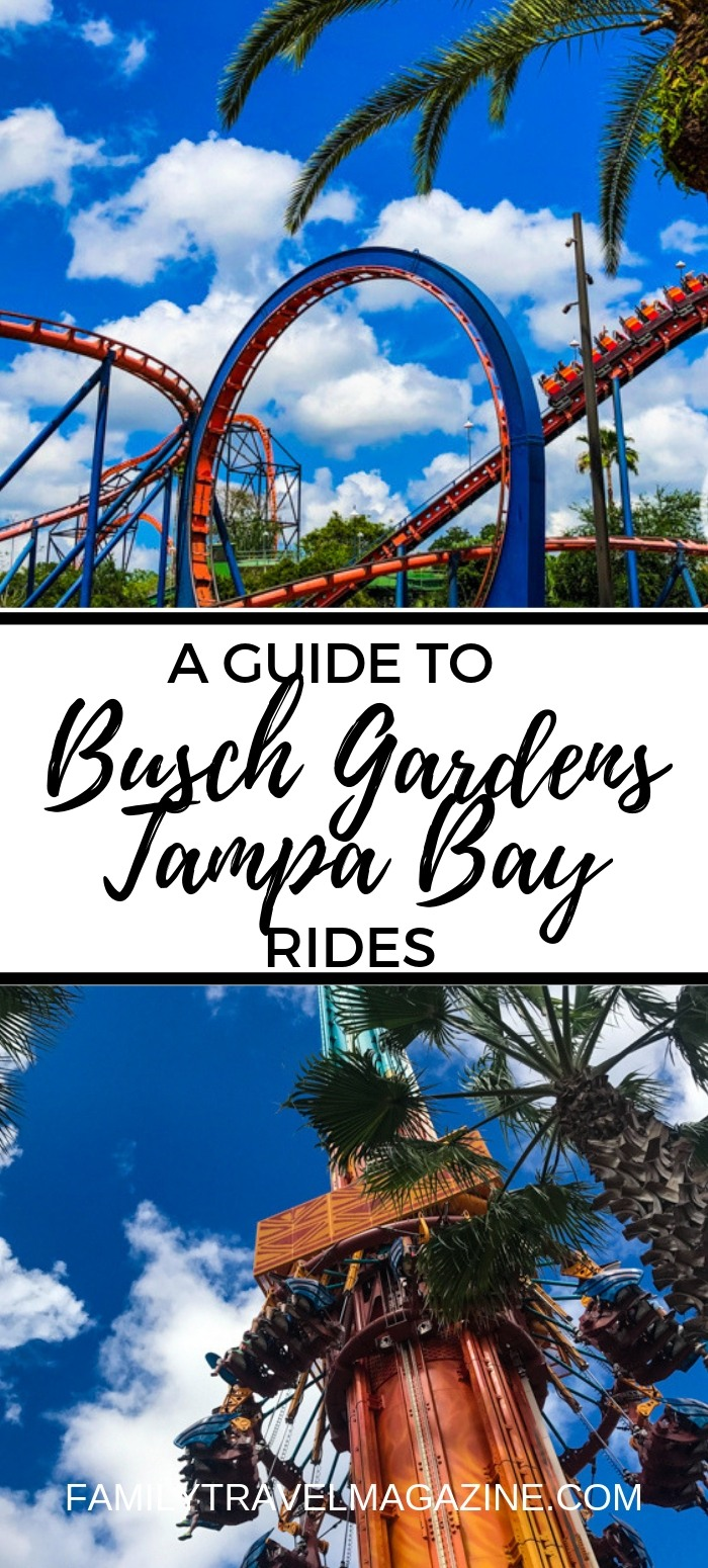 Busch Gardens is known for their world-class thrill rides. Here's our guide to the Busch Gardens Tampa rides and attractions.