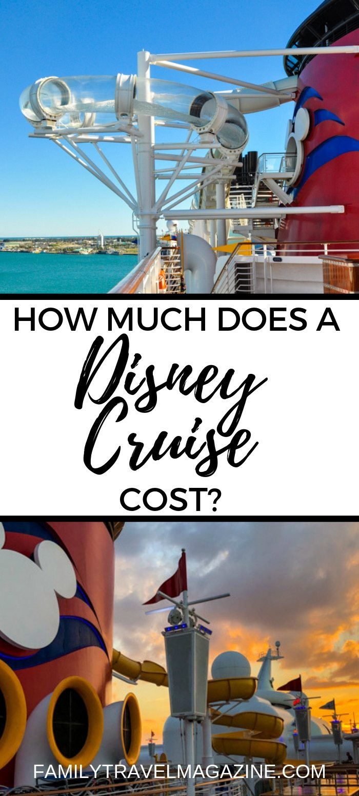 How much does a Disney cruise cost? Includes general prices, as well as information about what is included and what factors influence the price.