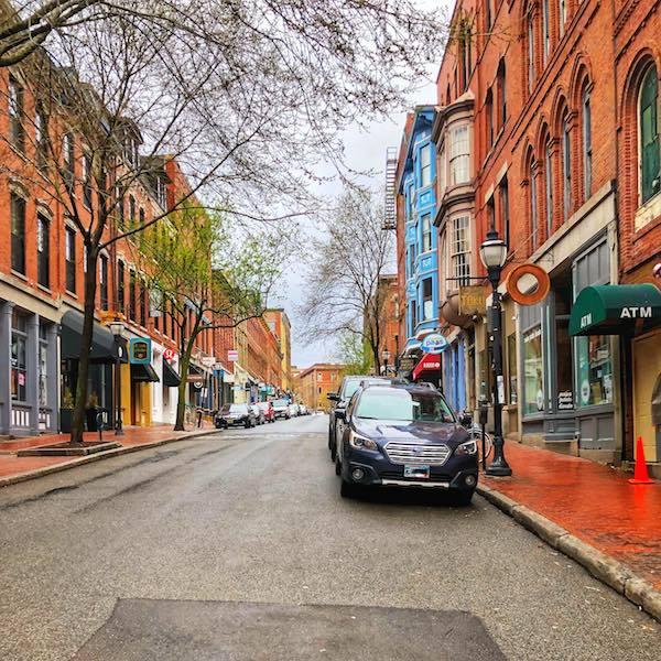 Portland Maine street