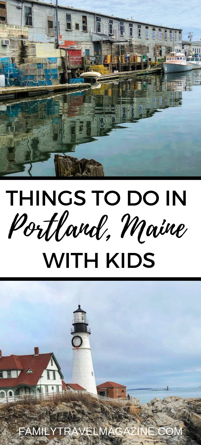 Things to do in Portland Maine with kids, including museums, restaurants, shopping, boat cruises, and baseball.