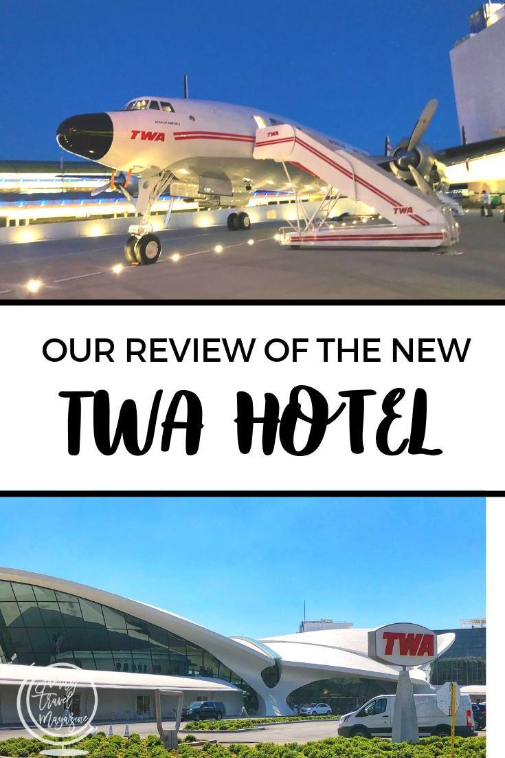 Our review of the new TWA Hotel, an aviation-lovers dream hotel located at JFK Airport in NYC.