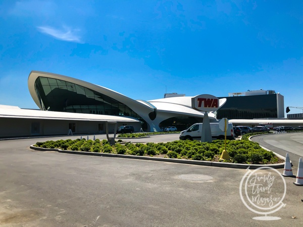 Exterior of the TWA Hotel