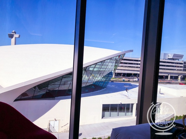 View from TWA Hotel room