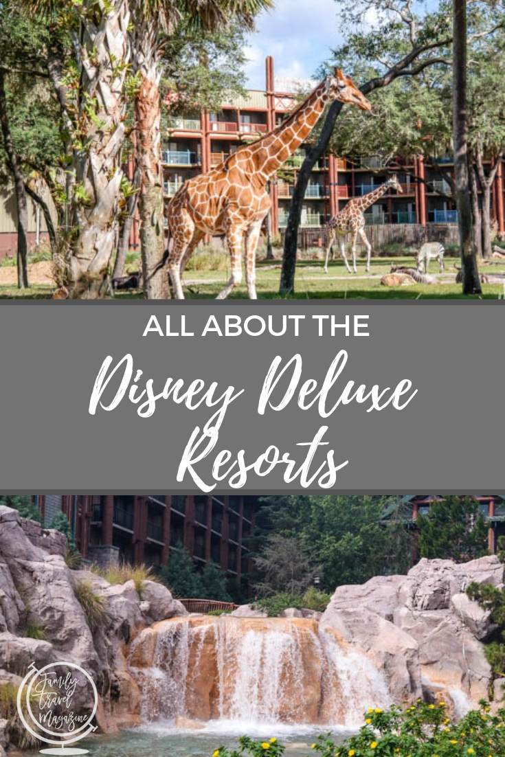 All about the Disney Deluxe Resorts, including resorts near the Magic Kingdom and Epcot.