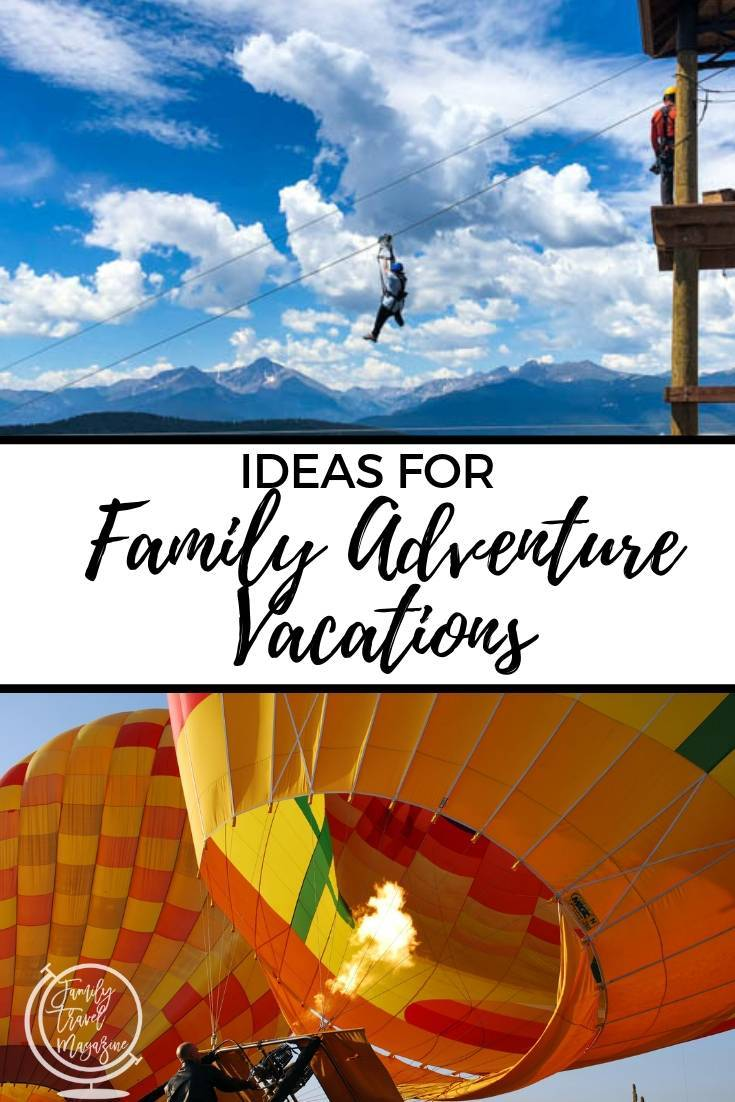 Whether you incorporate just a little bit of family friendly adrenaline-boosting activities into your trip, or plan a full action packed adventure trip, here is some inspiration for planning family adventure vacations.