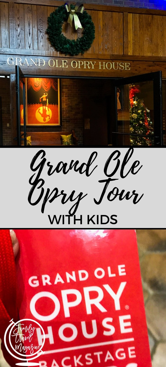 The Grand Ole Opry Tour with kids, including tour options, what to expect, where to eat, and where to stay.