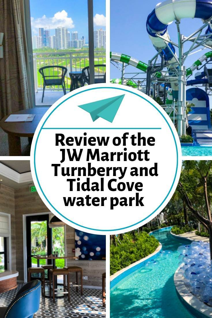 A review of the JW Marriott Turnberry and Tidal Cove water park in Aventura Florida (near Miami and Fort Lauderdale).