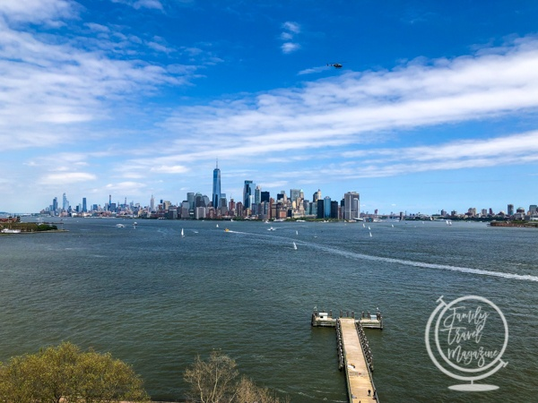 Manhattan from the Statue of Liberty
