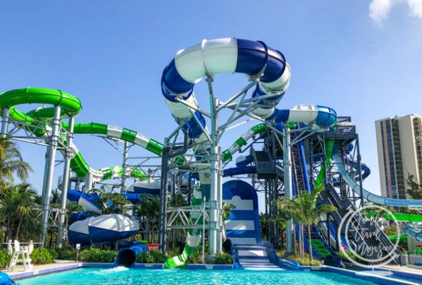 Tidal Cove water slides