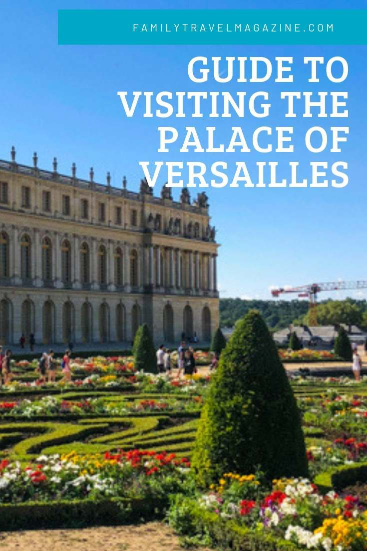 A guide to visiting the Palace of Versailles with kids, including the different Versailles ticket options, activities, and amenities.
