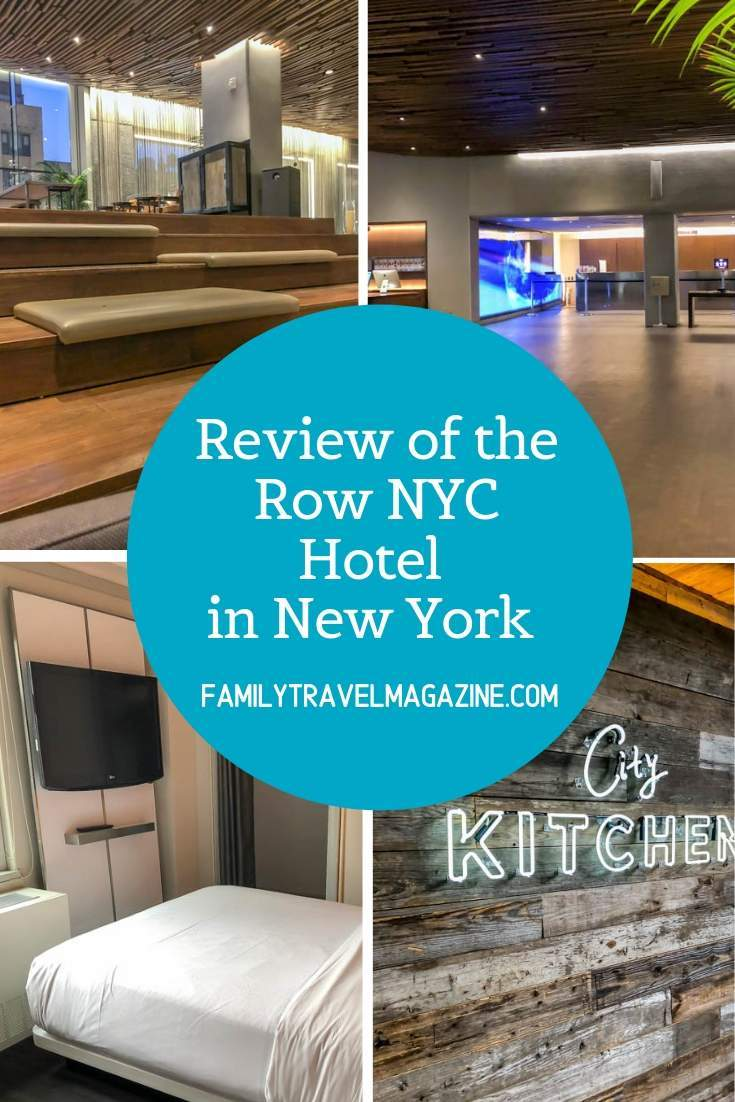 Review of the Row NYC hotel, a reasonably priced hotel that is so convenient to both Times Square and Broadway.