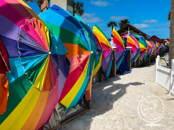 Sugar Sand Festival umbrellas