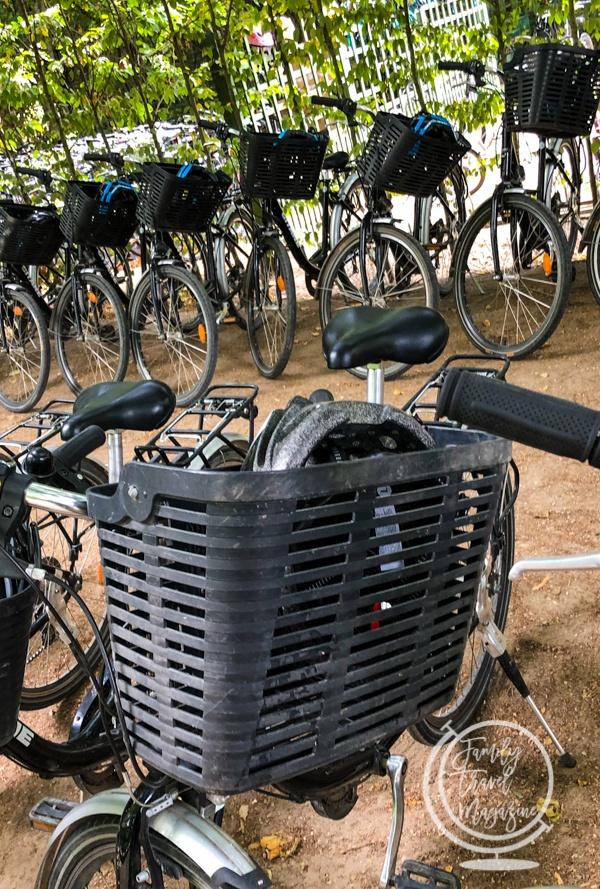 Bike rentals at Versailles