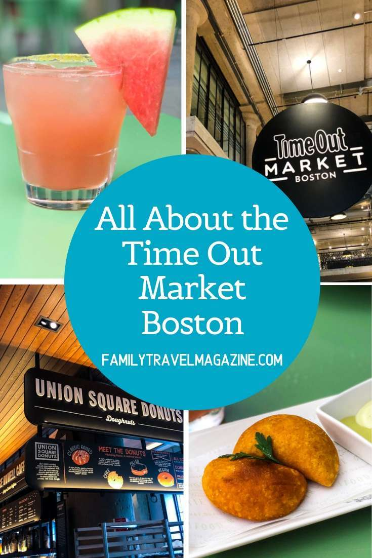 Review of the New Time Out Boston Food Hall - Family Travel