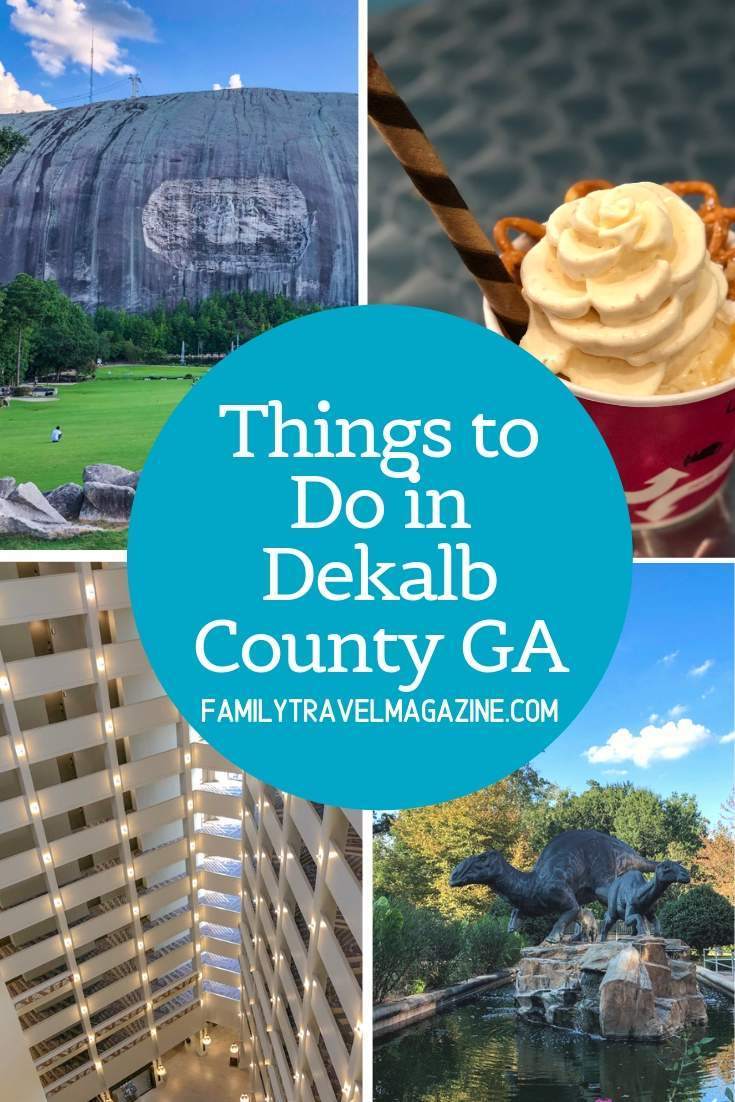 Things to do in Dekalb County GA, including Stone Mountain Park, Fernbank Museum, and lots of delicious restaurants.