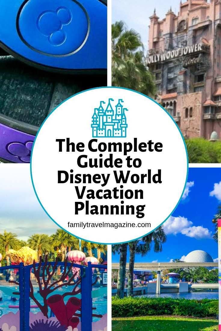Here's everything you need to know about Disney World vacation planning - from booking your resort reservation to getting FastPasses
