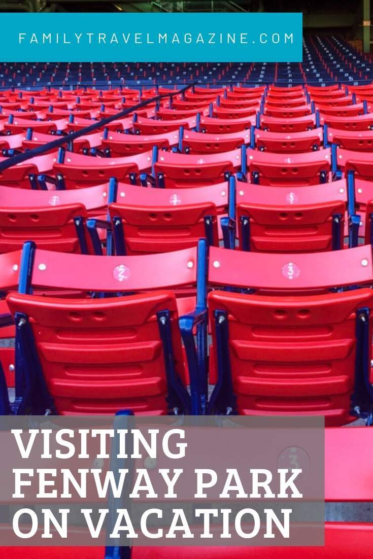 Visiting Fenway Park in Boston on vacation with kids, including information about Fenway Park tours, food, amenities, and more.