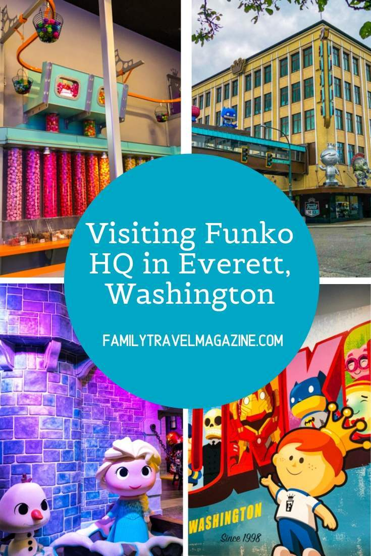 Funko Pop fans will love visiting Funko HQ, a shop dedicated to everything Funko, located in Everett, Washington about 40 minutes from Seattle.