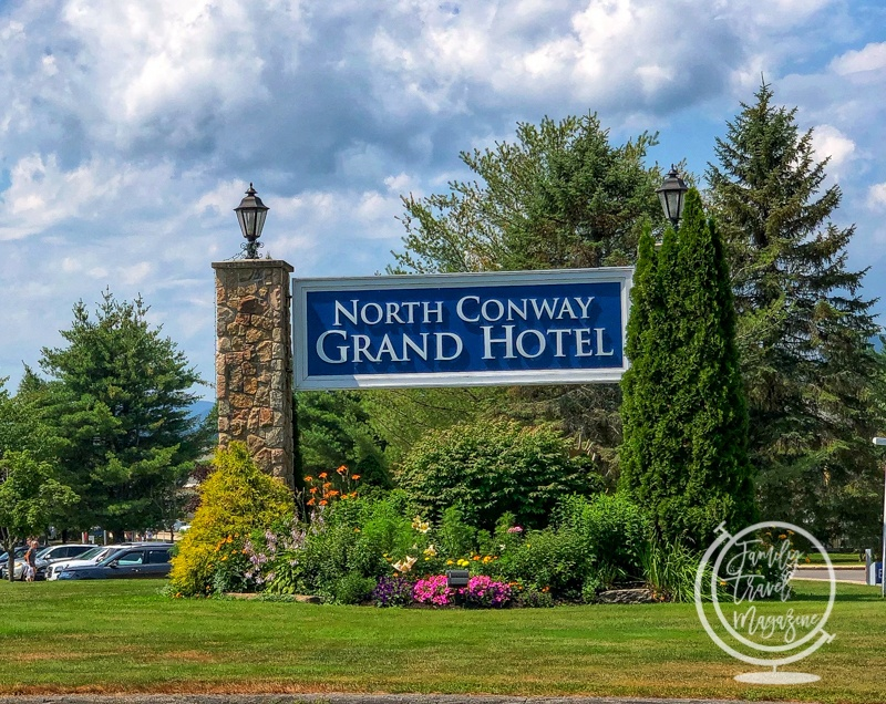 Sign at the North Conway Grand