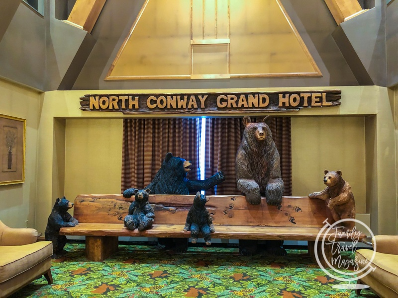 Lobby at the North Conway Grand