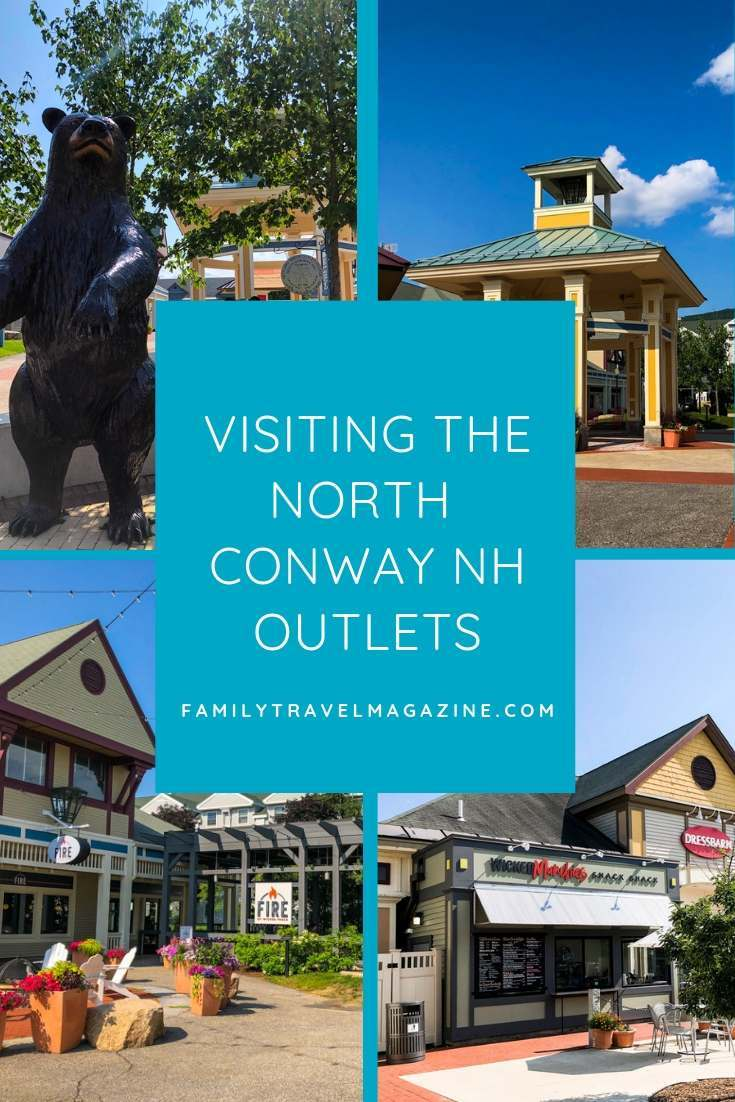 Tips for visiting the North Conway outlets in the White Mountains of New Hampshire.