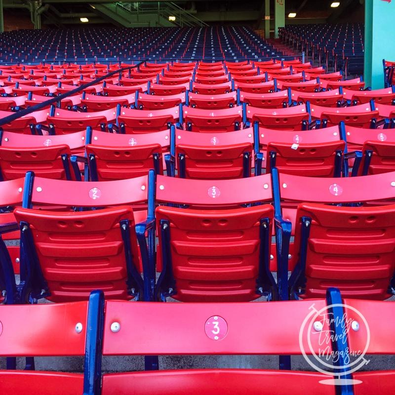 Seats at Fenway