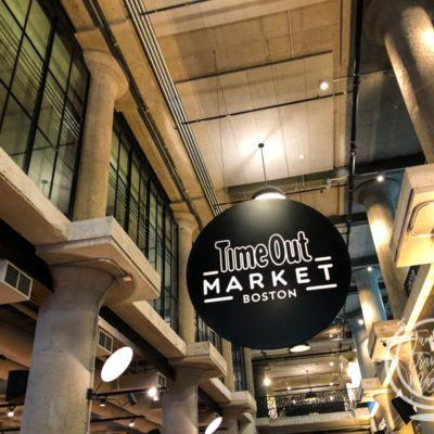 Review of the New Time Out Boston Food Hall