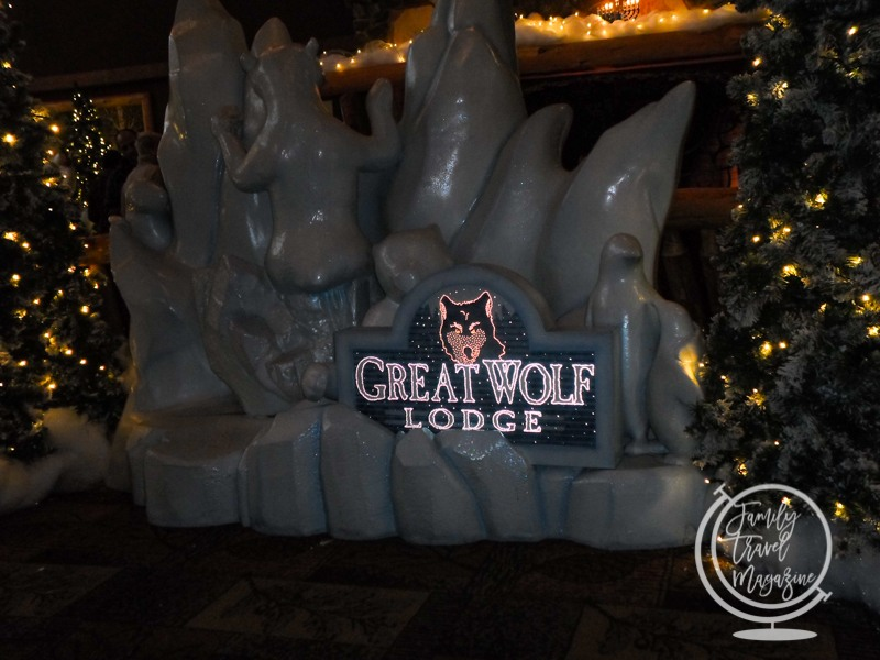 The Great Wolf Lodge at Christmas