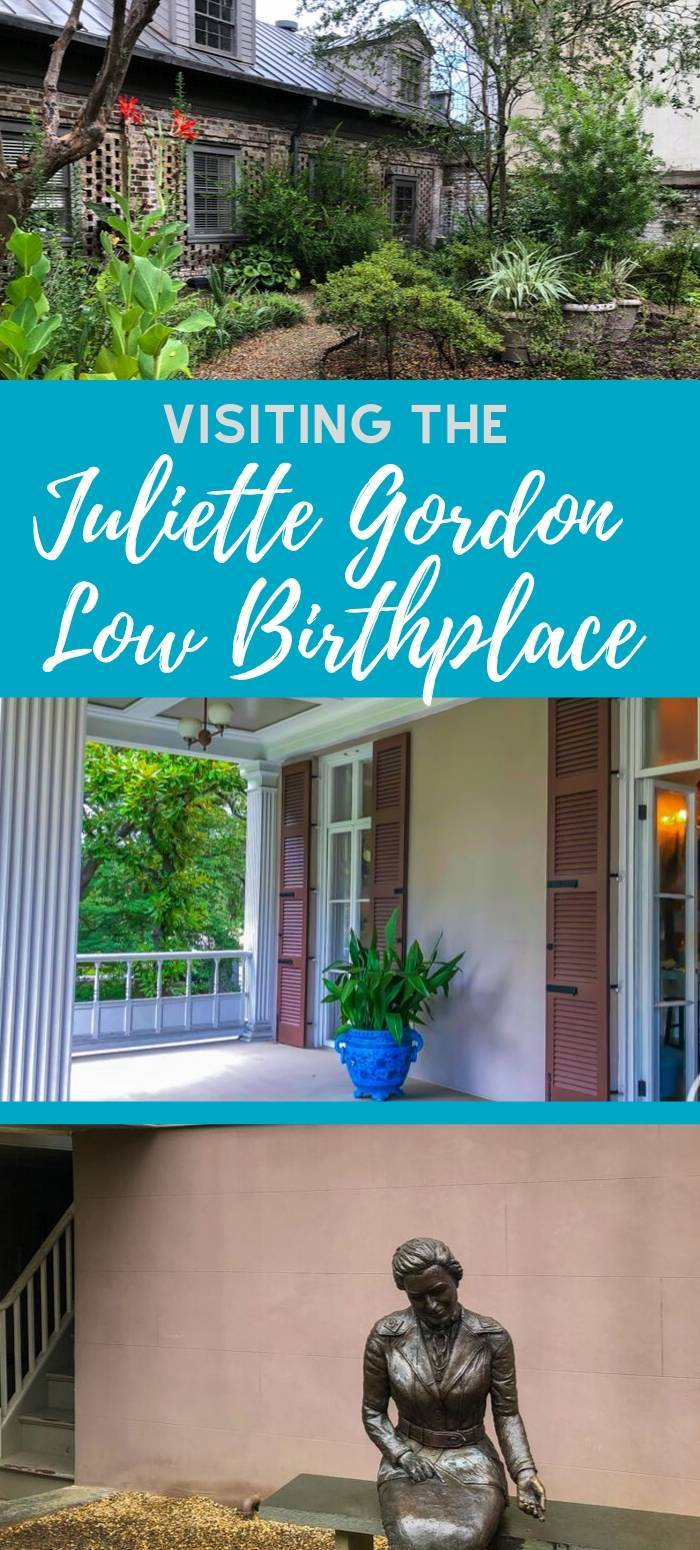 Tips for visiting the Juliette Gordon Low Birthplace including the location, what to see there, where to stay, and other things for Girl Scouts to do in Savannah.