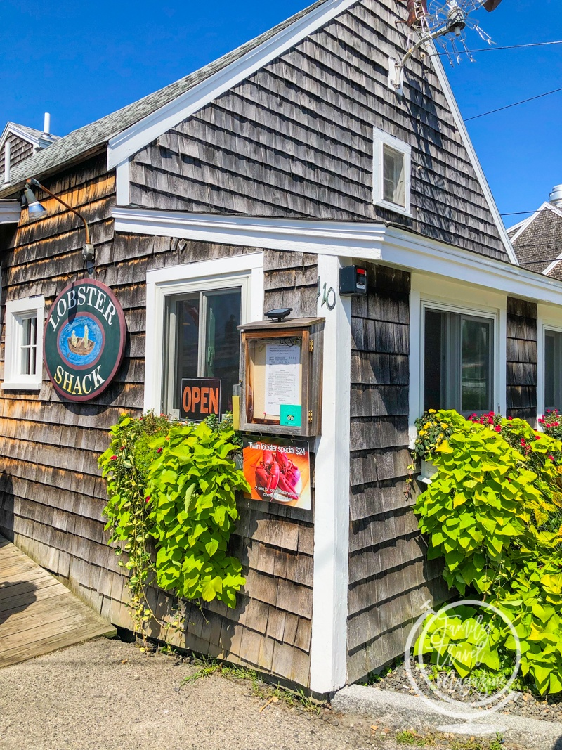 The Lobster Shack in Perkins Cove