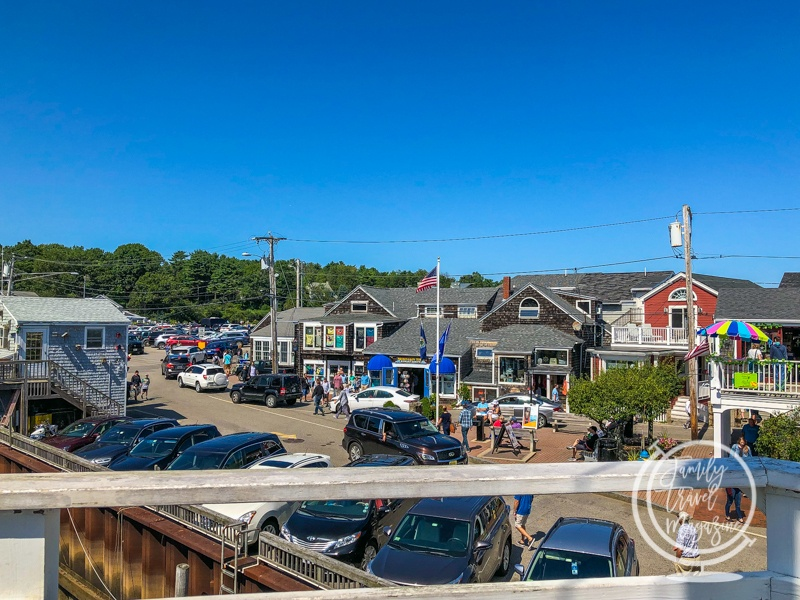Perkins Cove from the Pedestrian Drawbridge