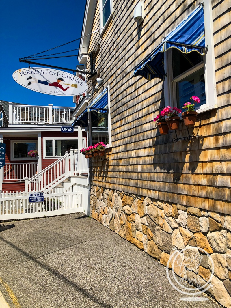 A candy shop in Perkins Cove