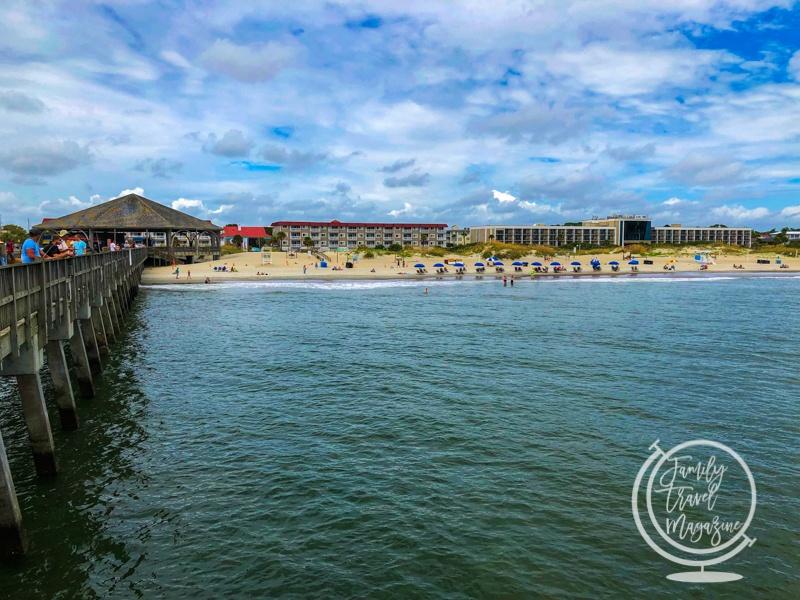 Tybee Beach from Pier