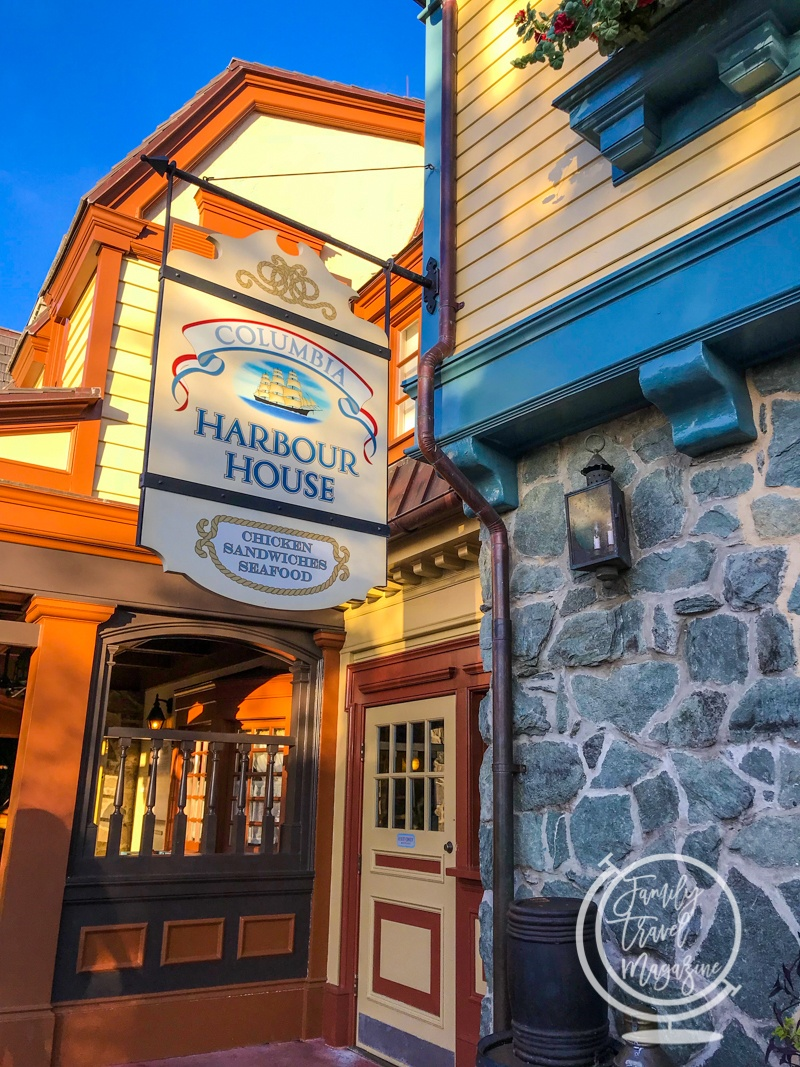 The Columbia Harbour House, one of the best quick service Magic Kingdom restaurants