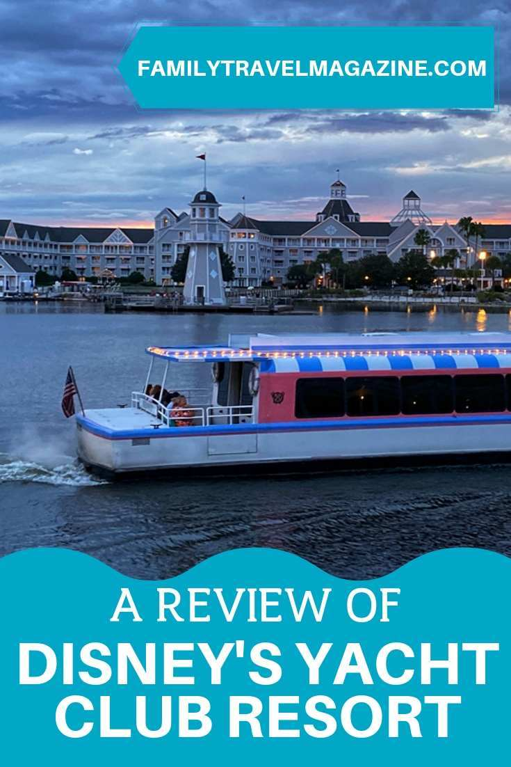 A review of Disney's Yacht Club Resort, including restaurants, Stormalong Bay, the newly renovated rooms, and the other amenities at this deluxe Walt Disney World Resort.